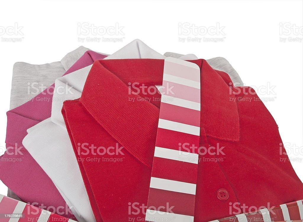 Polo t shirts royalty-free stock photo