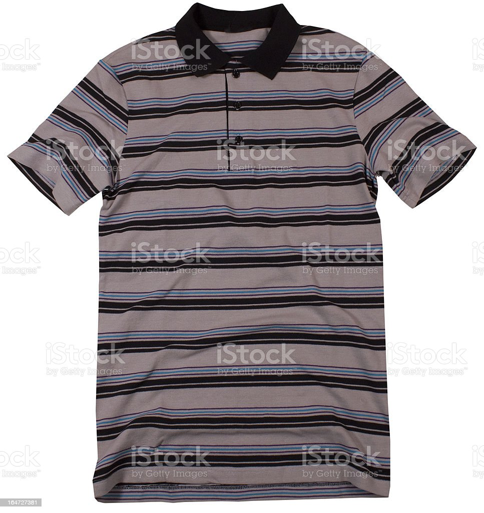 polo t-shirt royalty-free stock photo