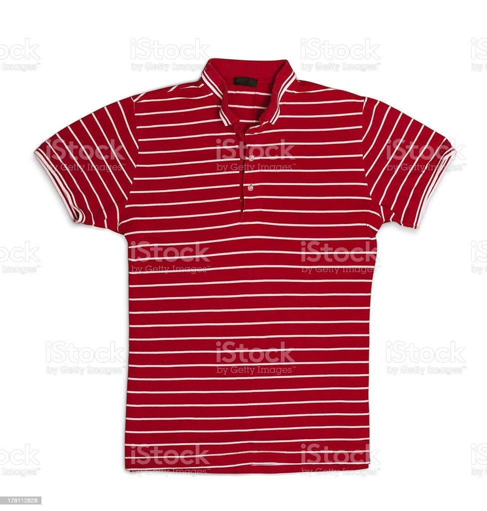 Polo t-shirt royalty-free stock photo