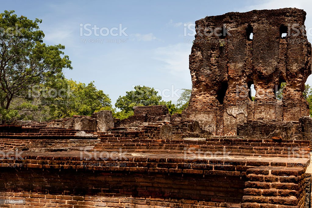 Polonnaruwa, Sri Lanka. royalty-free stock photo