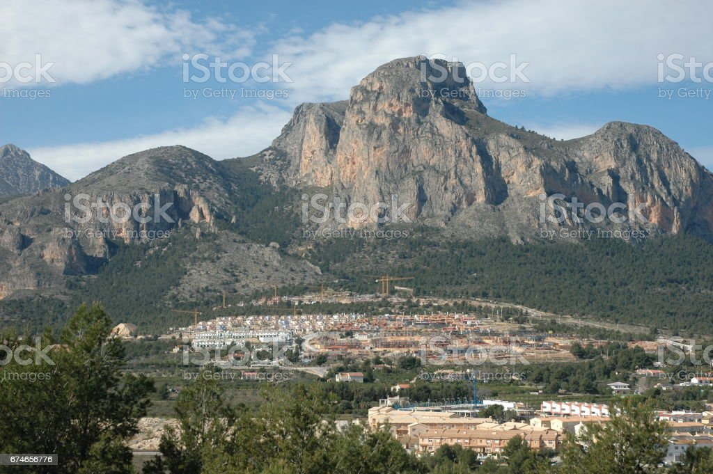 Polop de la Marina - Costa Blanca - Spanien stock photo