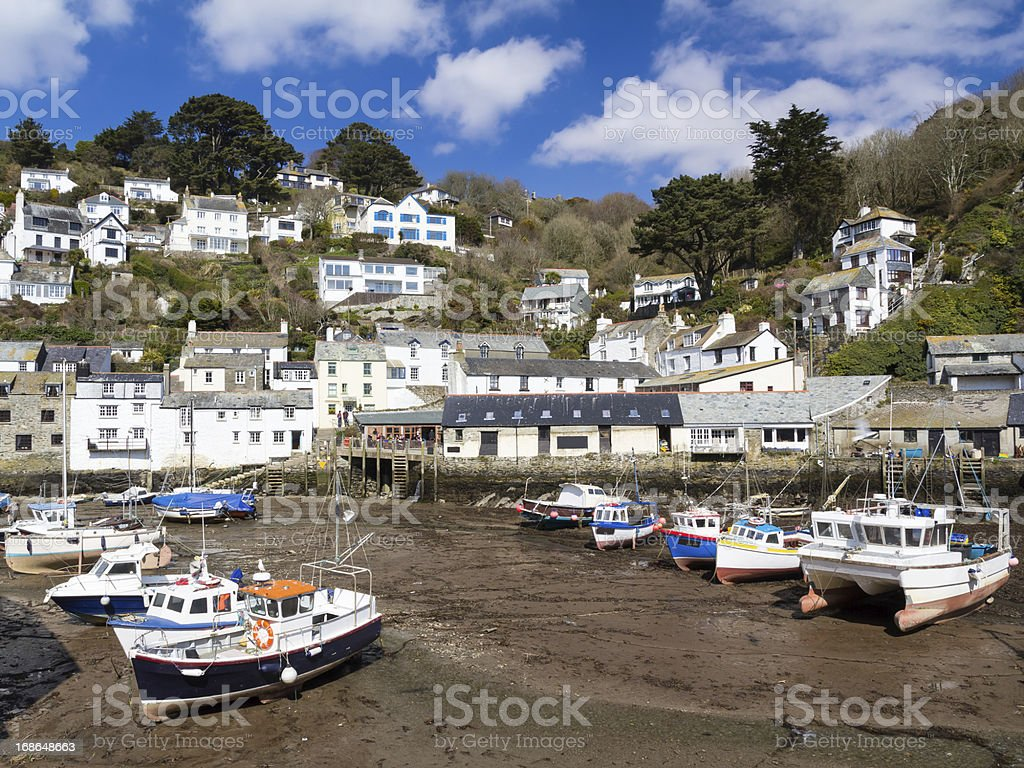 Polperro Cornwall photo libre de droits
