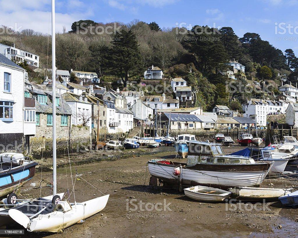 Polperro Cornwall photo libre de droits