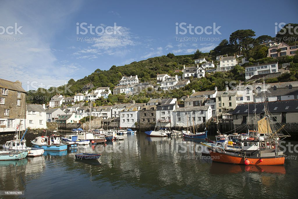 Polperro, Cornwall royalty-free stock photo