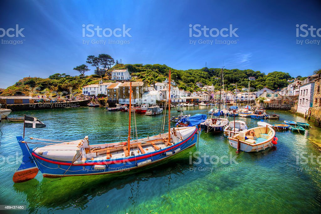 Polperro, stock photo