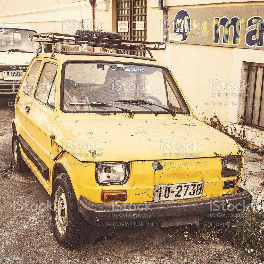 Polski Fiat 126p stock photo
