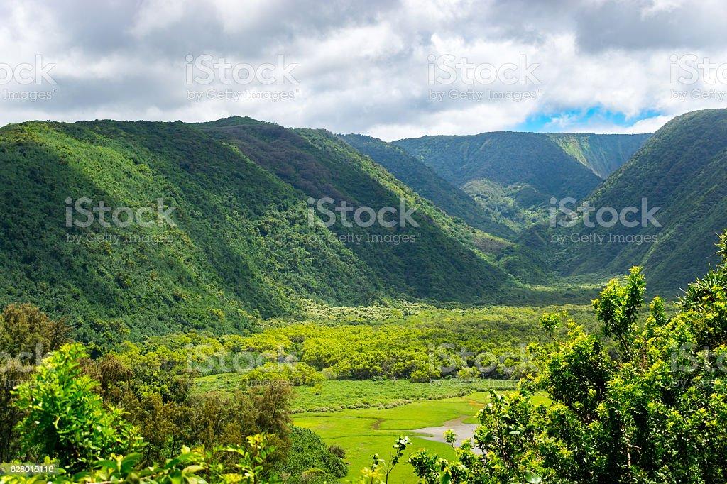 Polulu Valley stock photo
