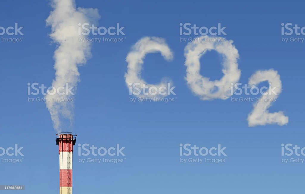CO2 Polution (NEW!!!) stock photo