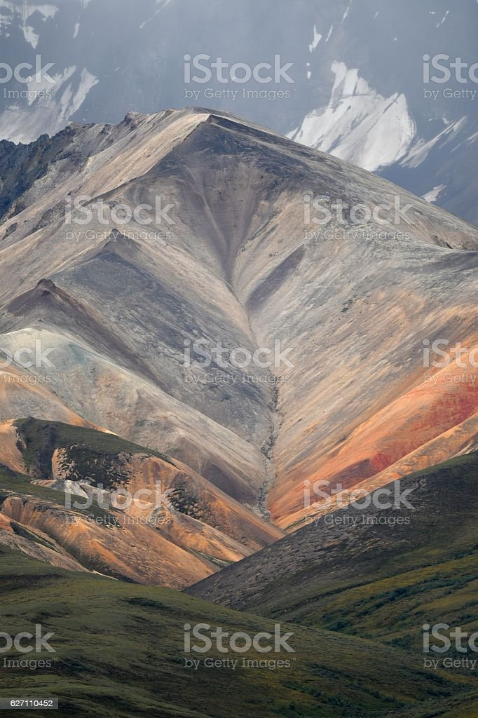 Polychrome Pass stock photo