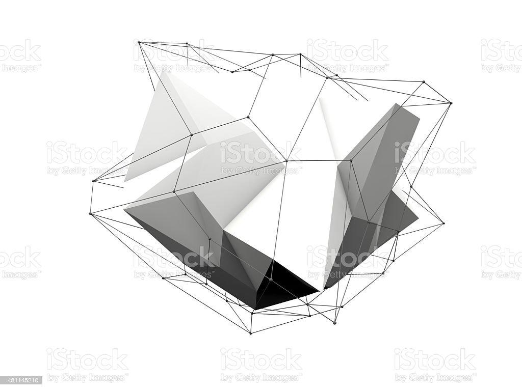 polygon stock photo