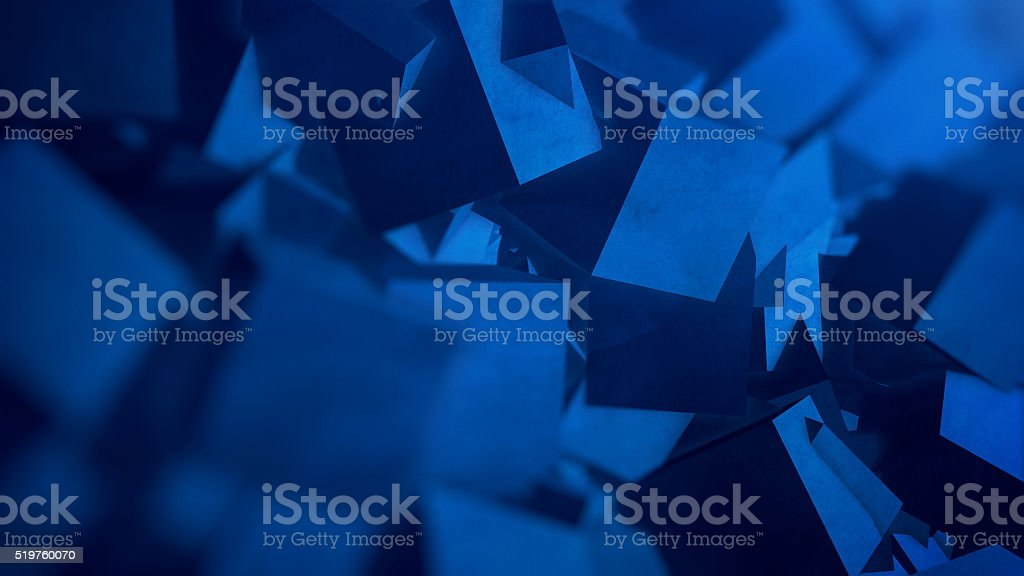 Polygonal Abstraction Background stock photo