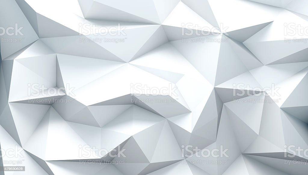 Polygonal background stock photo