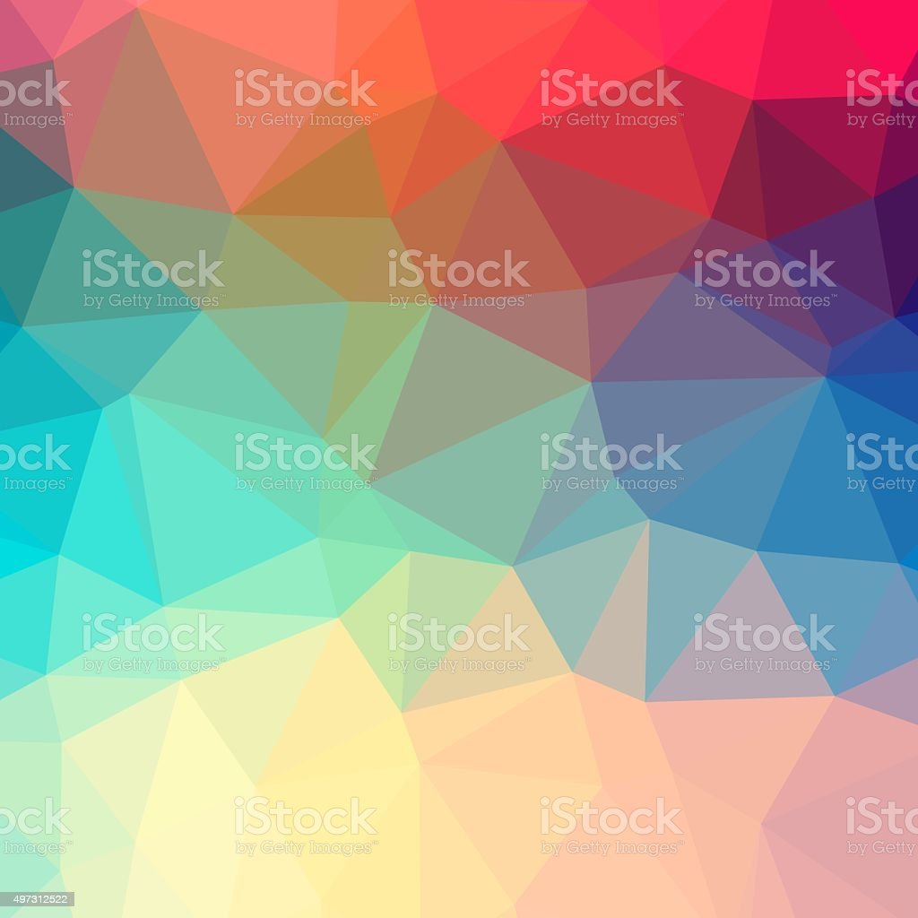 Polygonal background stock photo