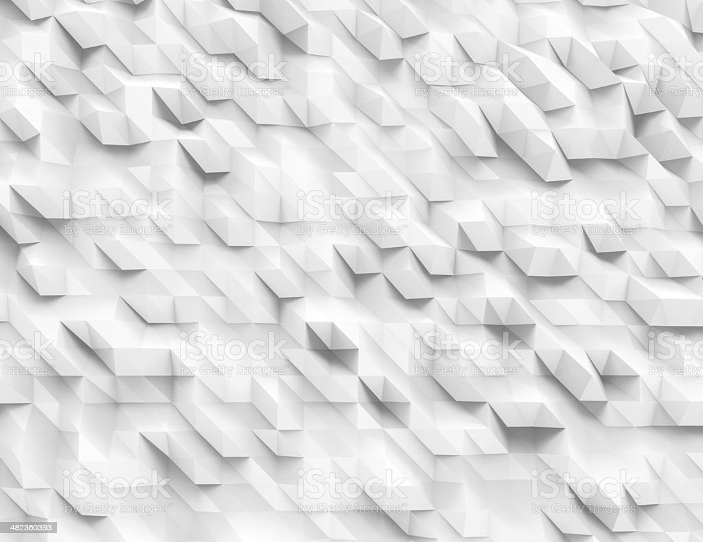 Polygonal design, Abstract geometrical background. stock photo