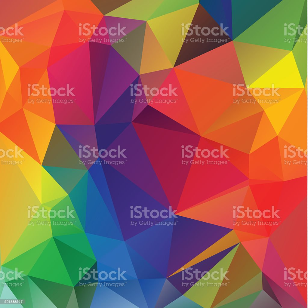 polygonal mosaic background, Business design templates stock photo