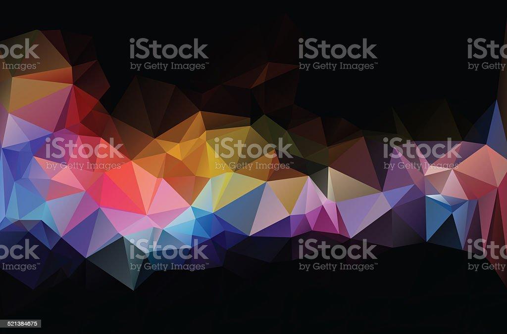 polygonal mosaic background,Business design templates stock photo