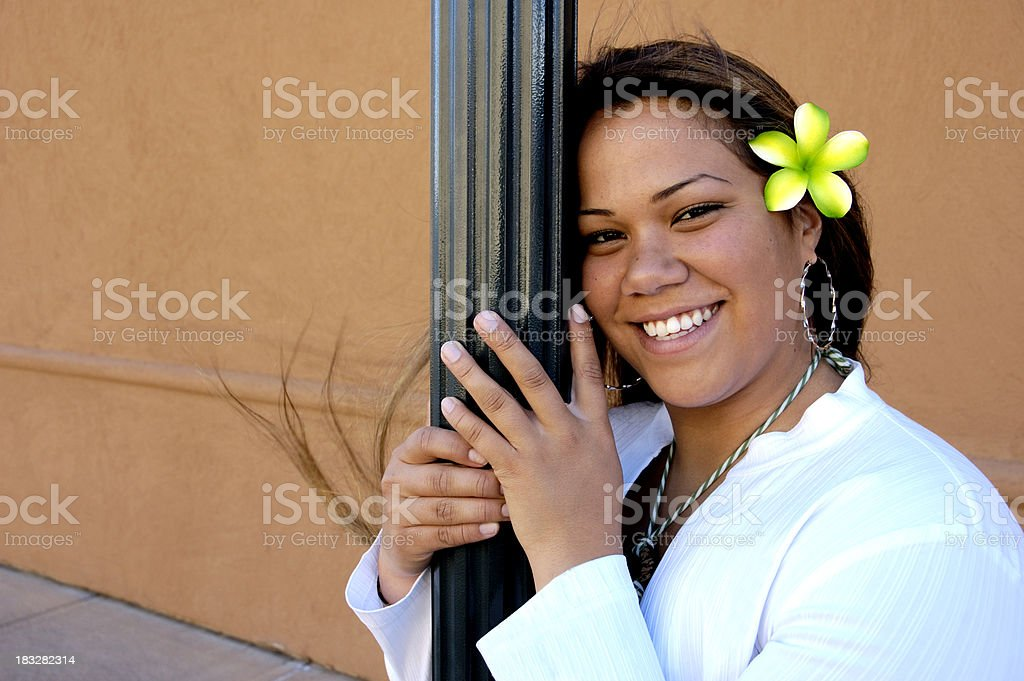 Polynesian Fun royalty-free stock photo