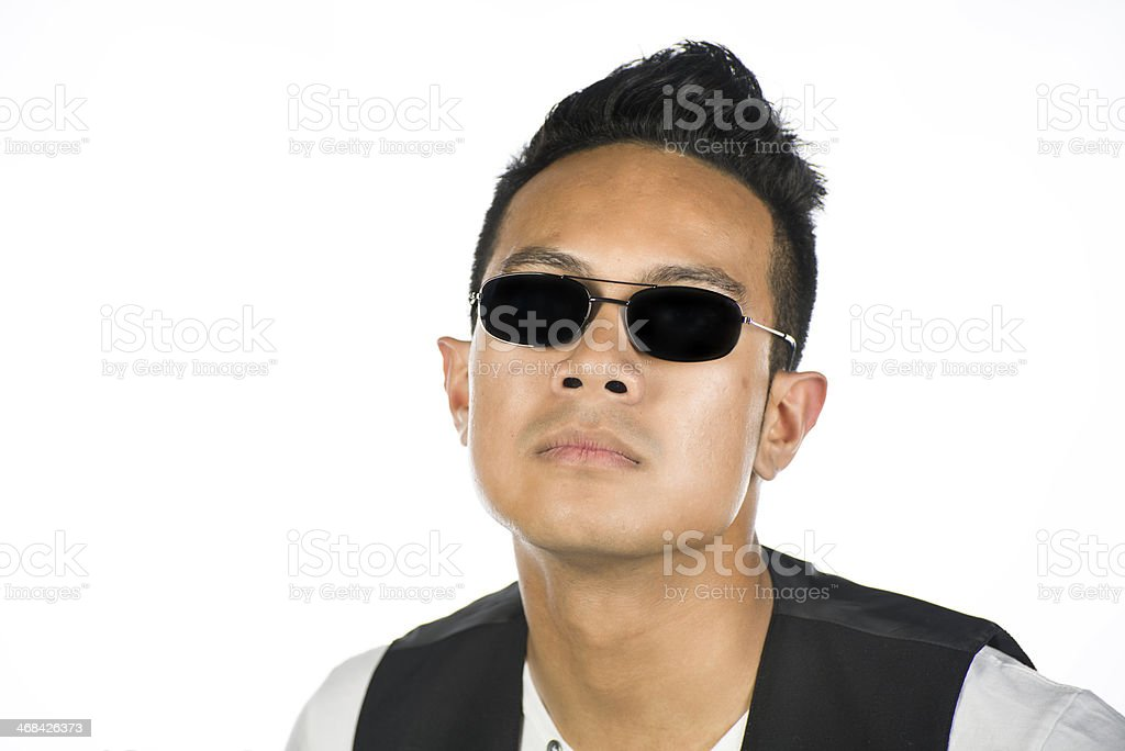 Polynesian guy royalty-free stock photo