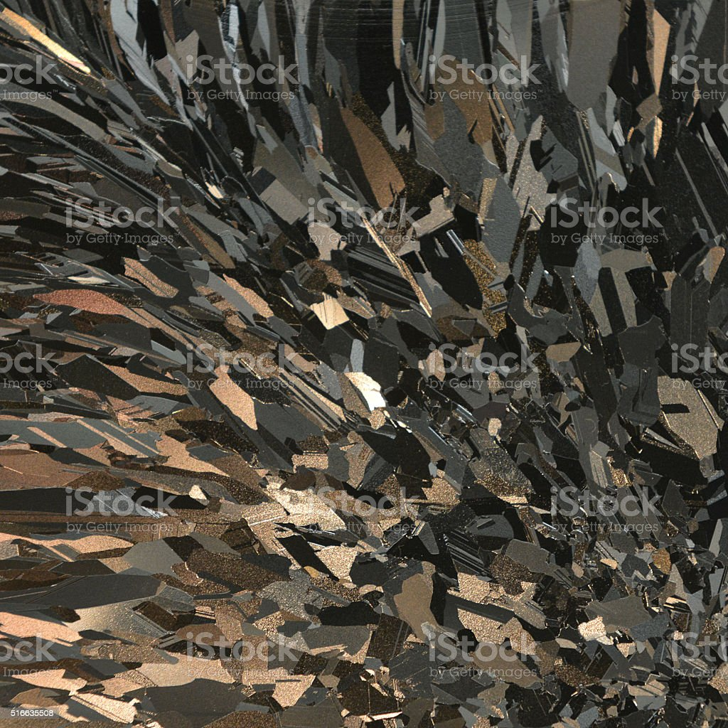 Polysilicon stock photo