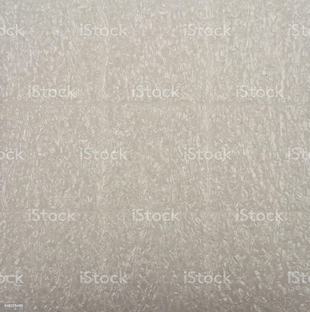 Polystyrene background texture stock photo