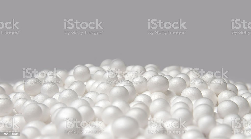 Polystyrene foam03 stock photo