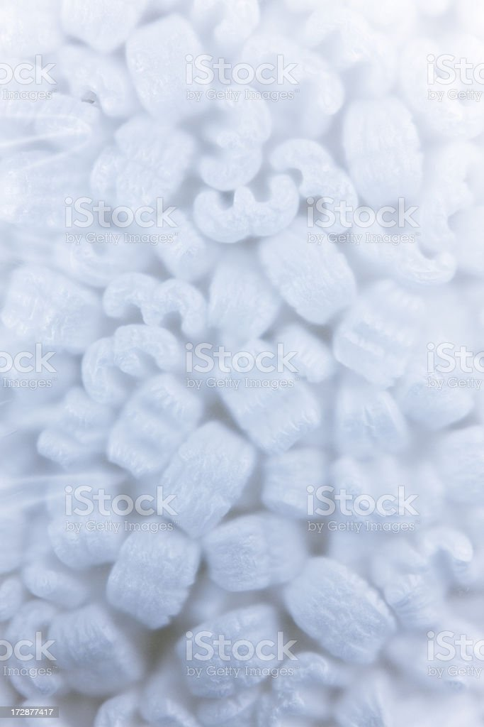 Polystyrene Loose-Fill stock photo