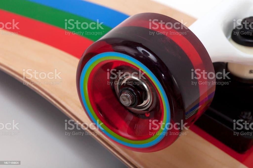 Polyurethane Skateboard Wheel stock photo