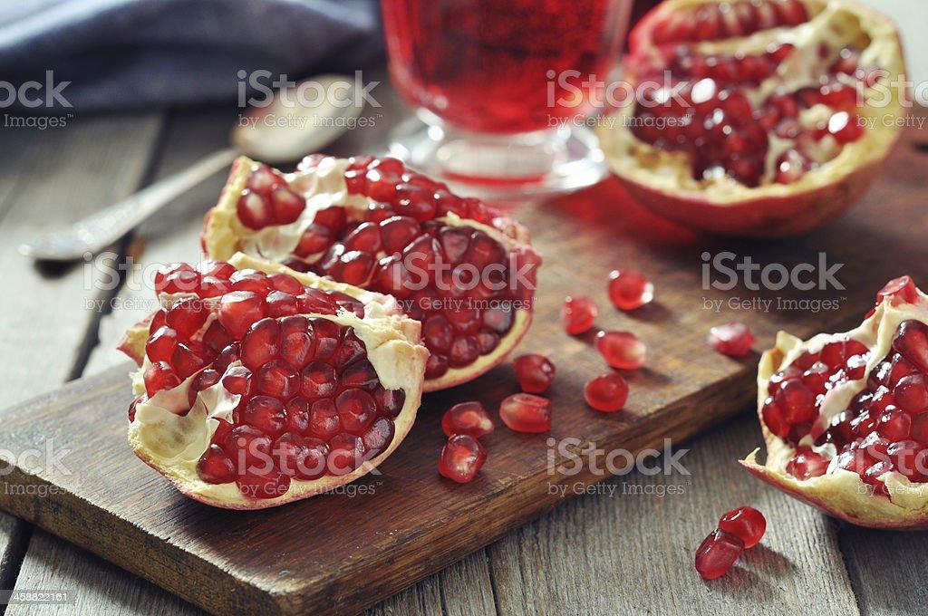 Pomegranate fruit royalty-free stock photo