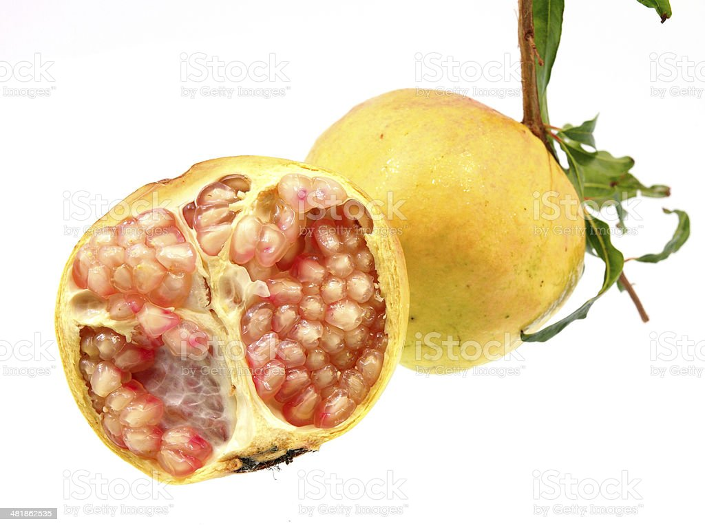 Pomegranate fruit royalty-free stock photo