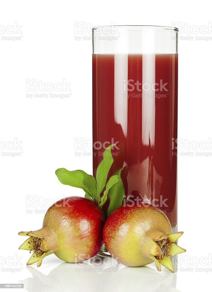 Pomegranate  juice royalty-free stock photo