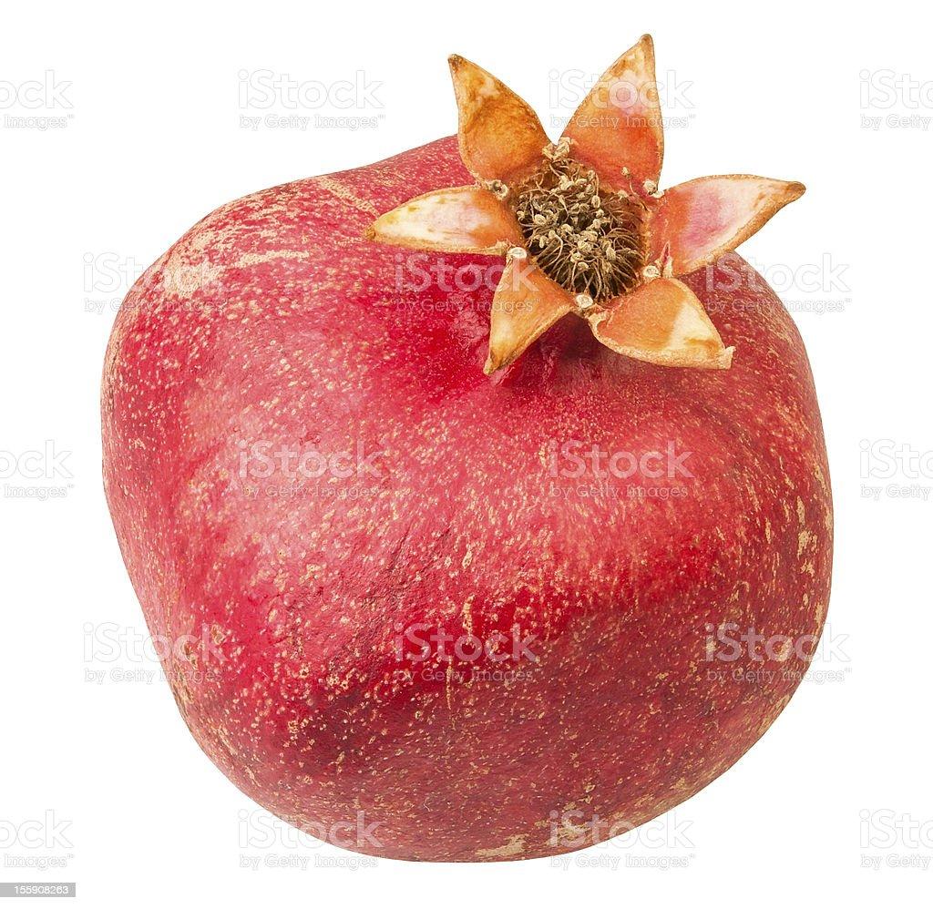 pomegranate one royalty-free stock photo