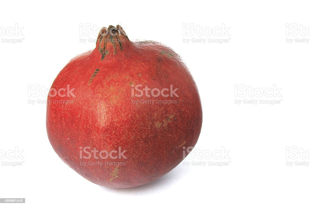 Pomegranate (Punica granatum) stock photo