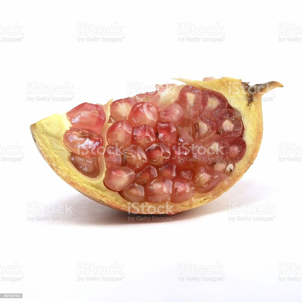 pomegranate royalty-free stock photo