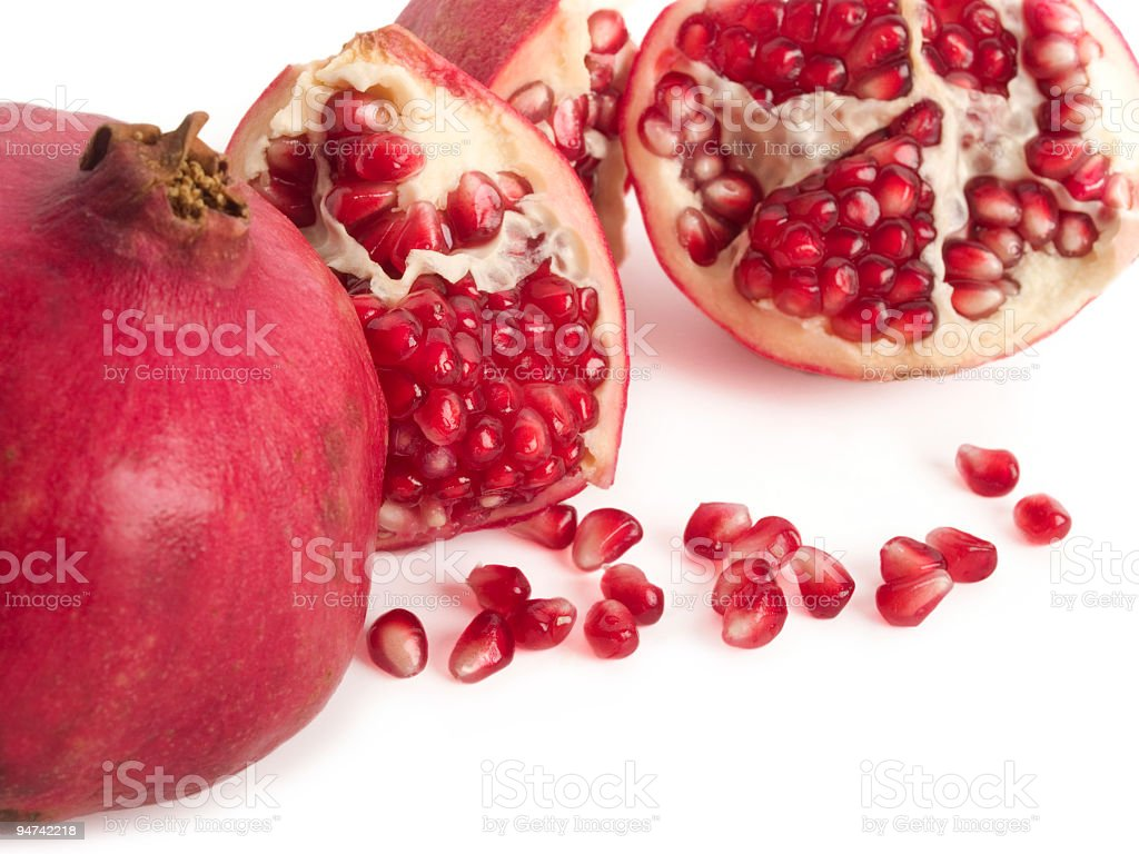 Pomegranate Sprawl royalty-free stock photo