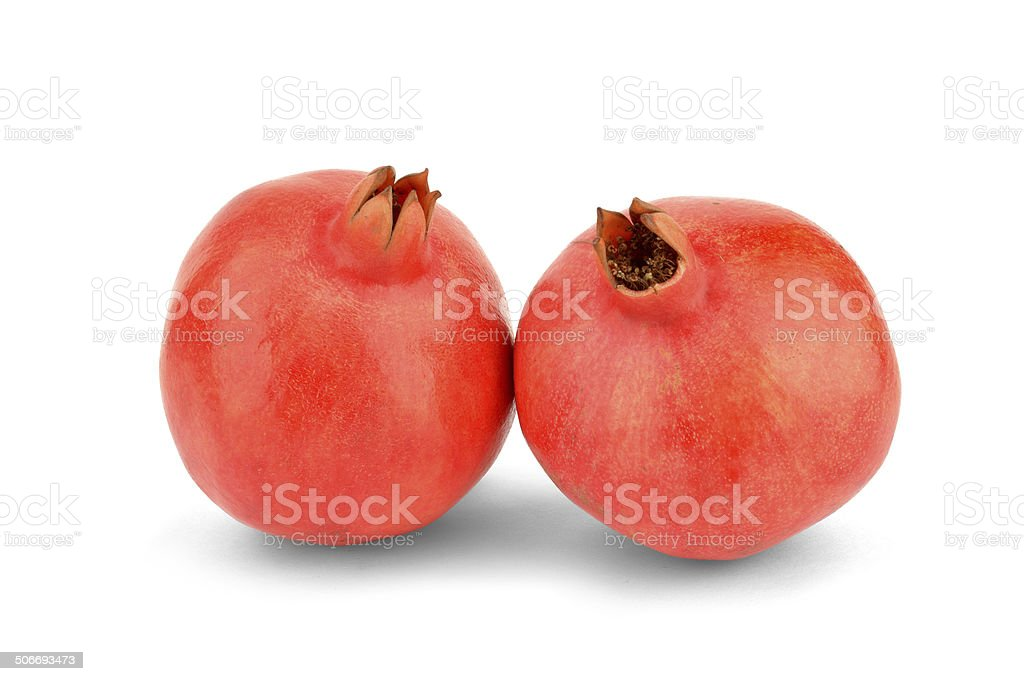 Pomegranate - Stock Image stock photo