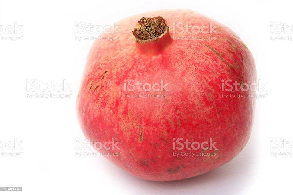 pomegranate studio shot royalty-free stock photo