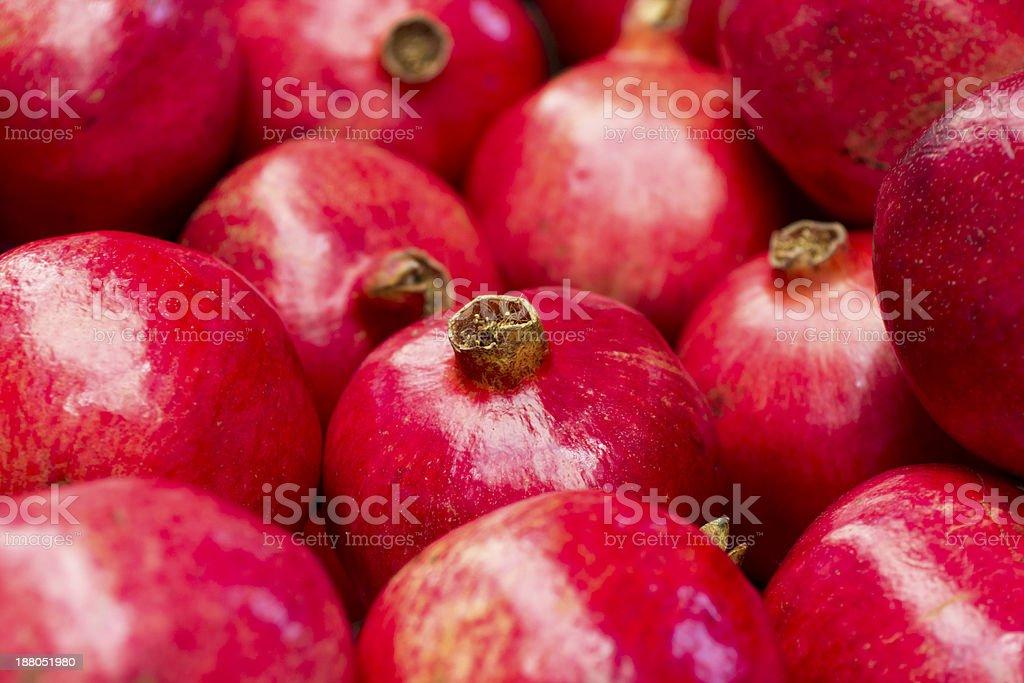 Pomegranates stock photo
