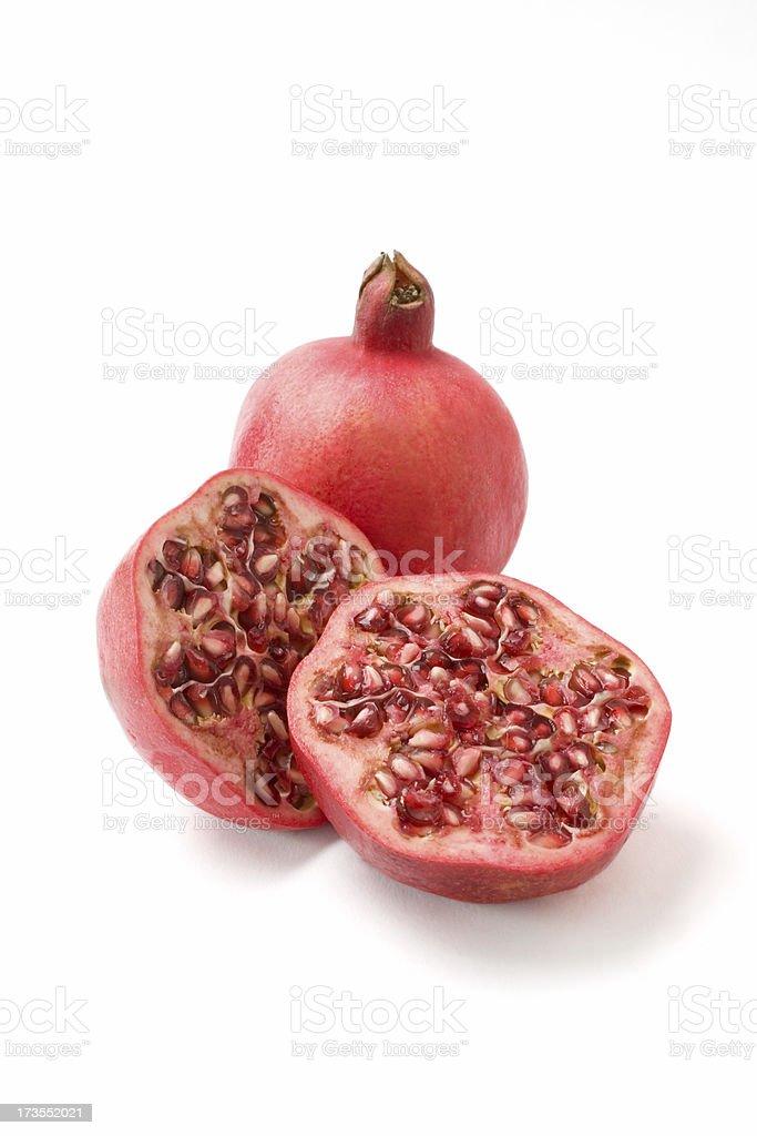 Pomegranite stock photo