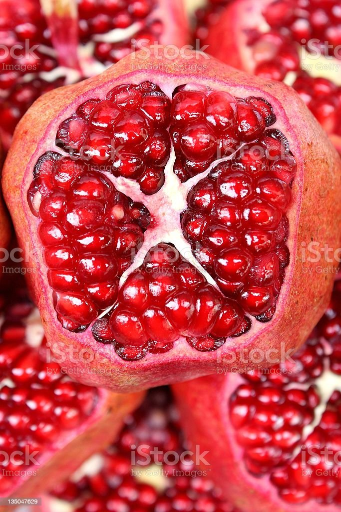 Pomegrante royalty-free stock photo