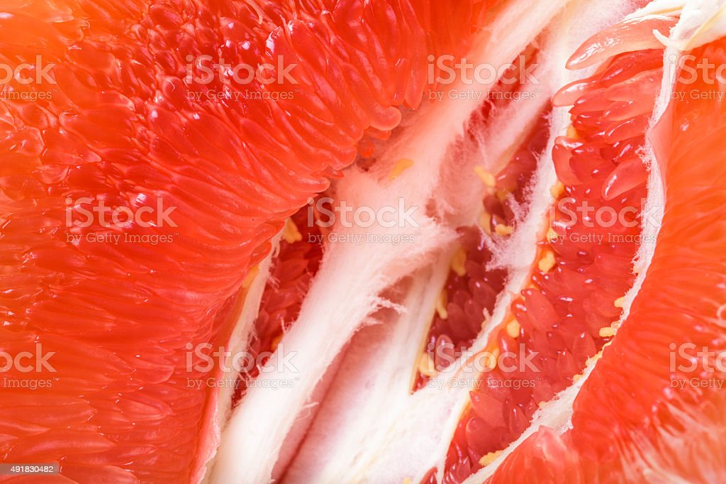 Pomelo closeup tropical fruit background stock photo