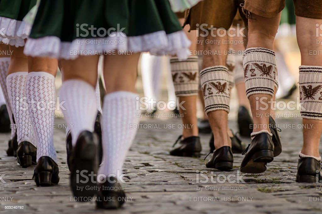 Festa Pomerana - Pomerode Brasil stock photo