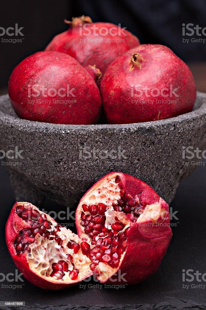 Pommegranets stock photo