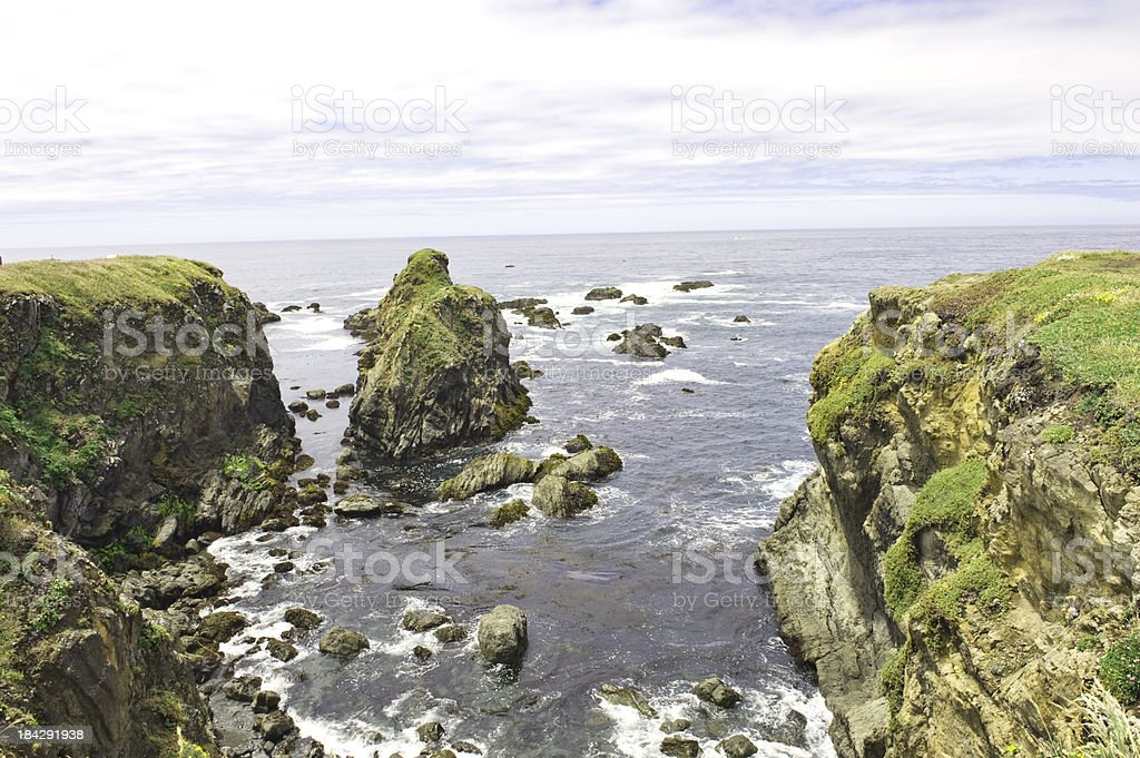 Pomo Beach Views royalty-free stock photo