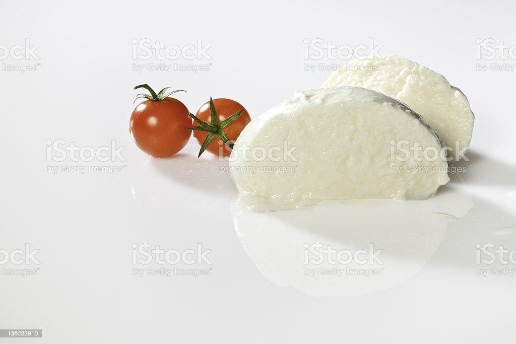 pomodori e mozzarelle ロイヤリティフリーストックフォト