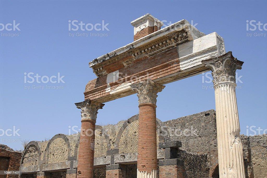 Pompeya, Italia foto de stock libre de derechos