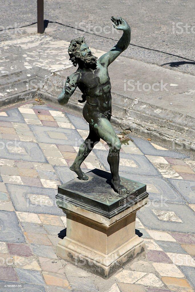 pompei stock photo