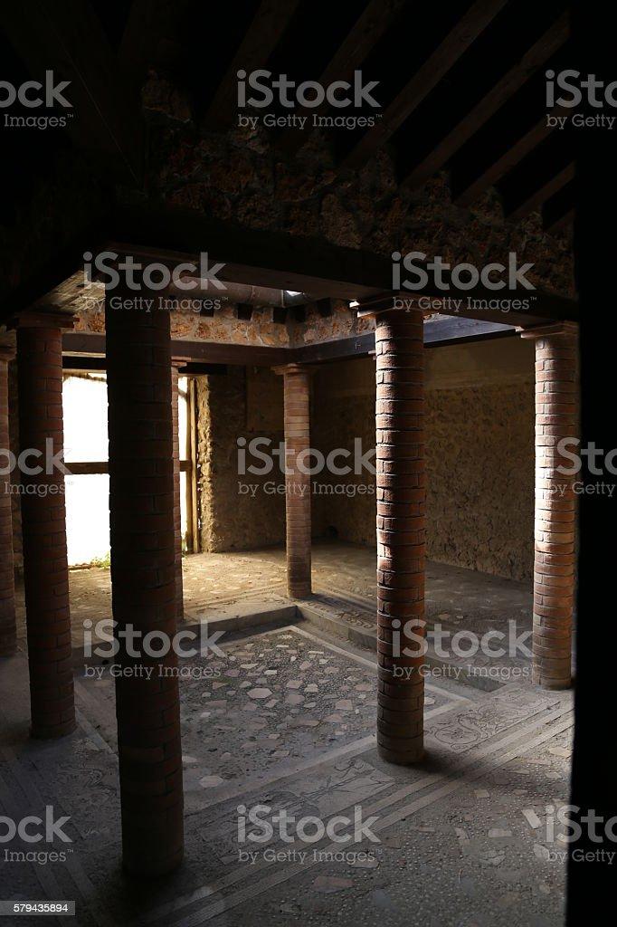 Pompeii, Italy-Ancient Architecture stock photo
