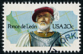 Ponce De Leon Stamp
