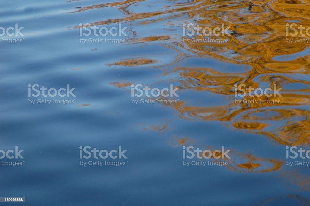 pond reflection 02 royalty-free stock photo