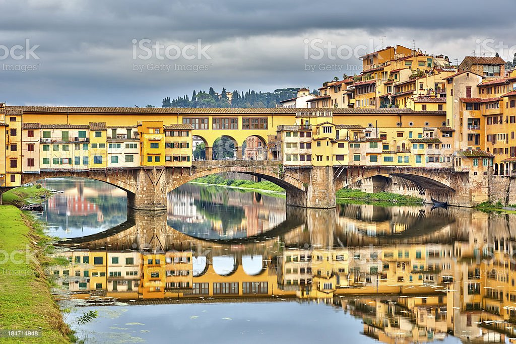 Pone Vecchio in Florence royalty-free stock photo